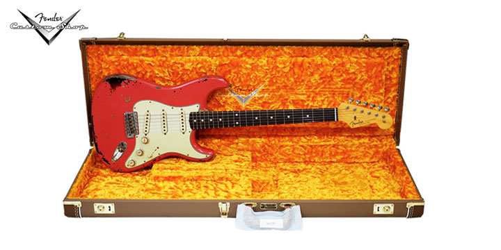 [Only신촌점단독입고! 딱1대뿐!]Fender USA CUSTOM SHOP 1963 MICHAEL LANDAU SIGNATURE(155-2400-140)